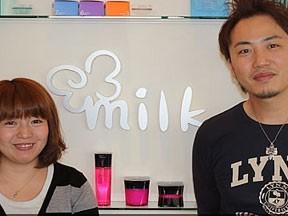hair labo milk