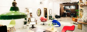 hair salon .half