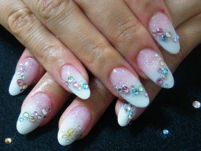 Nail & Eye Salon. Pink Rose